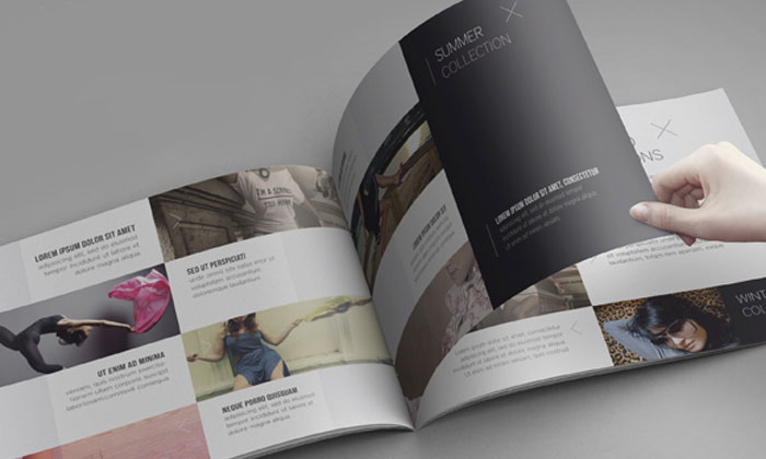 Landscape Brochure PSD Mock Up