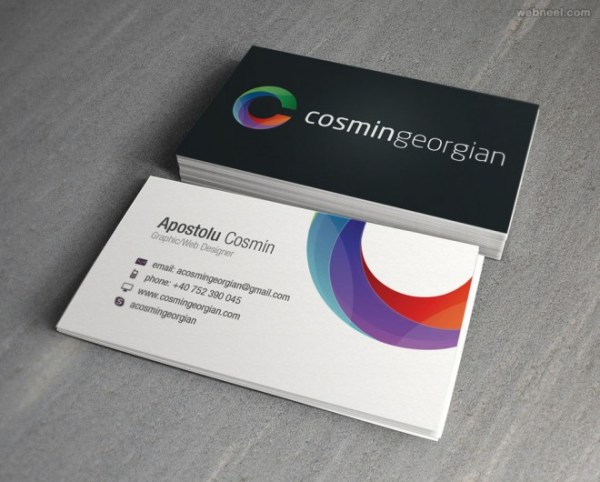 colourful-corporate-business-card