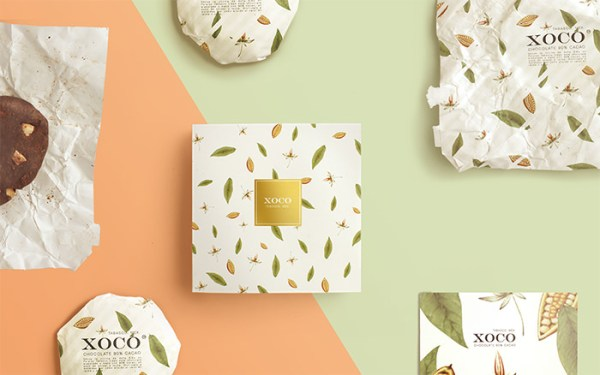 XOCO Mexican Chocolate Packaging