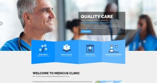 Healthflex New Medical Wordpress Theme