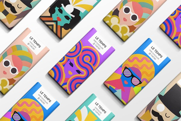 Le Temps Chocolate Packaging Design