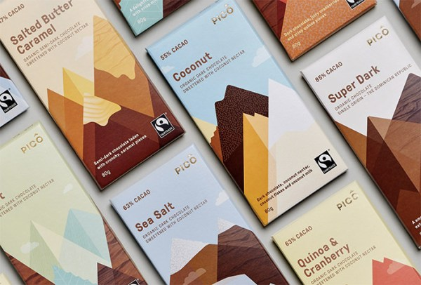 PICO Chocolate Packaging