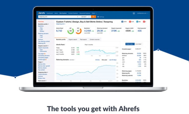 ahrefs Keyword Research Tools