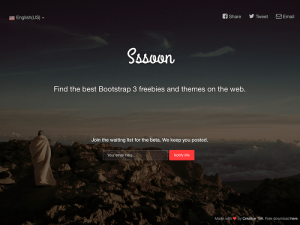 Sssoon Template free download