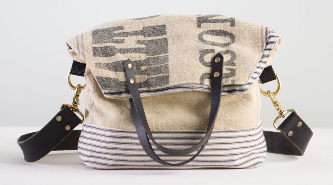 Sew a Feed Sack Bag by Elke Bergeron  Creativebug