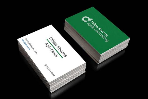 Dillon Kearns Agile Consulting Business Card