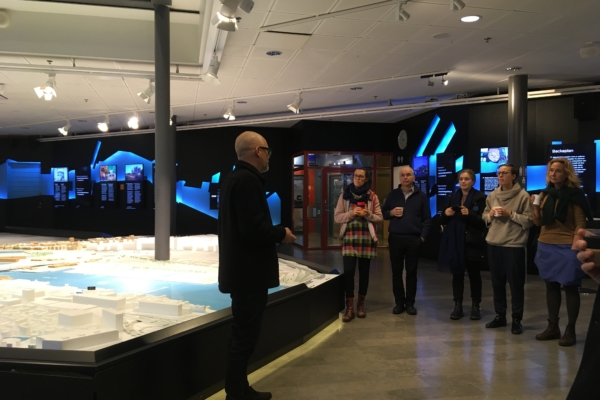 Cultural Adaptations partners meet with Björn Siesjö, Gothenburg City Architect