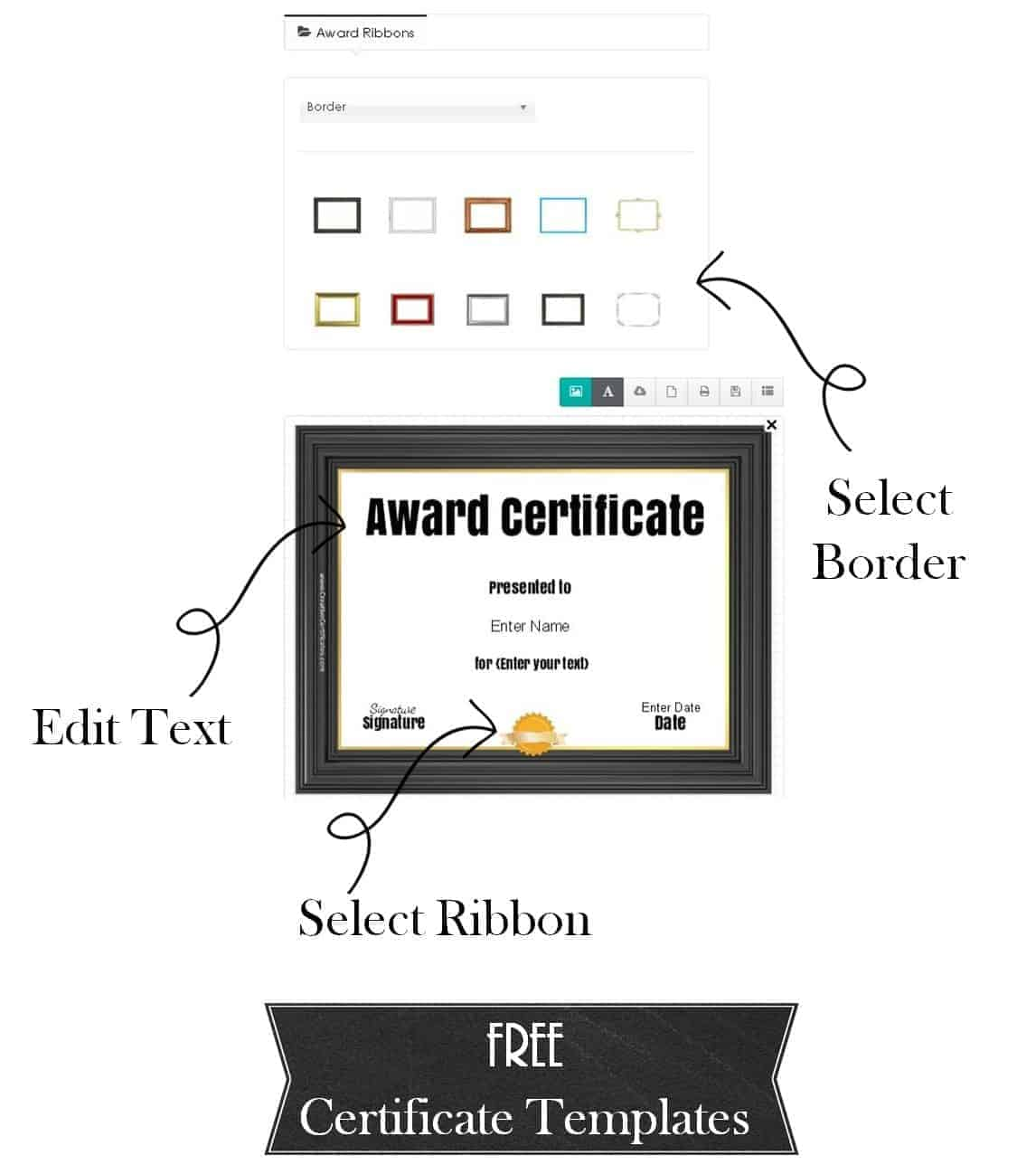 Free Printable and Customizable Certificate Templates