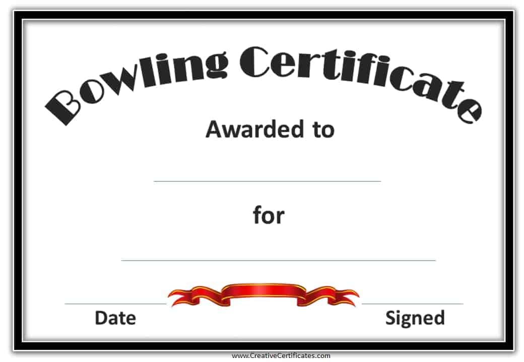 Cheerleading Certificate Ideas