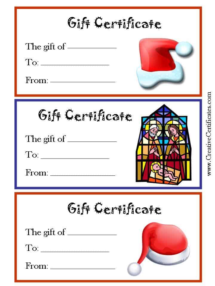 720 x 960 jpeg 78kB, Free printable christmas gift certificates