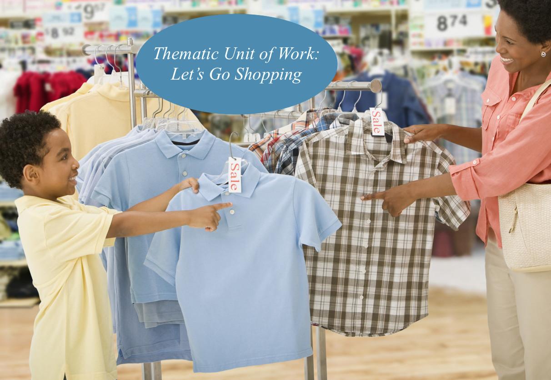 Let S Go Shopping Worksheet