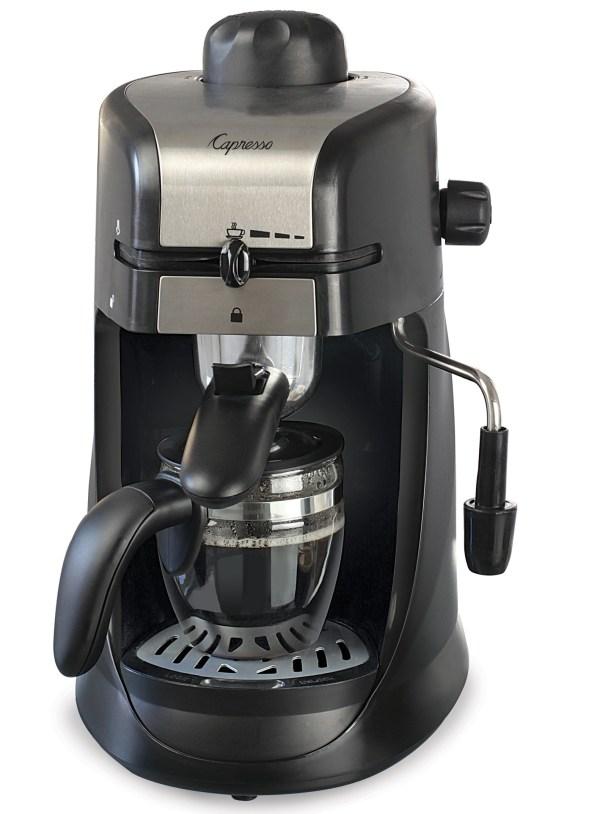 Capresso Steam Pro 4 Cup Coffee Machine Creative Cookware