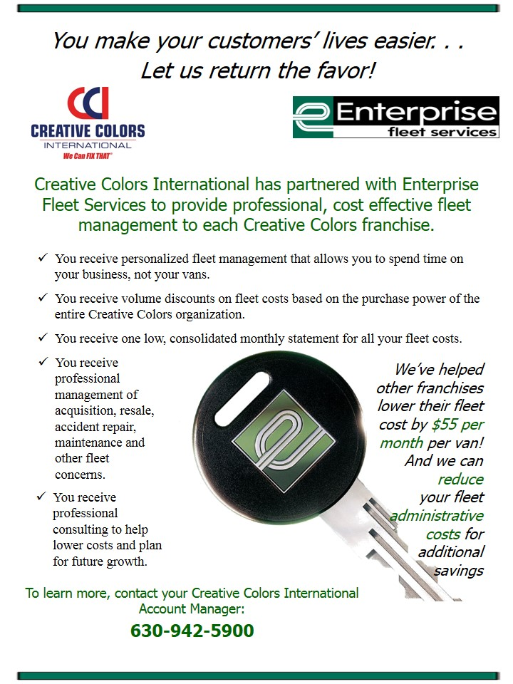 Enterprise Fleet Leasing Creative Colors International