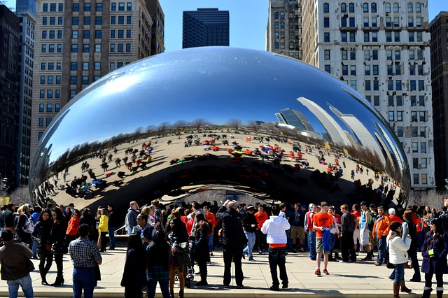 The Bean in Chicago The Windy City