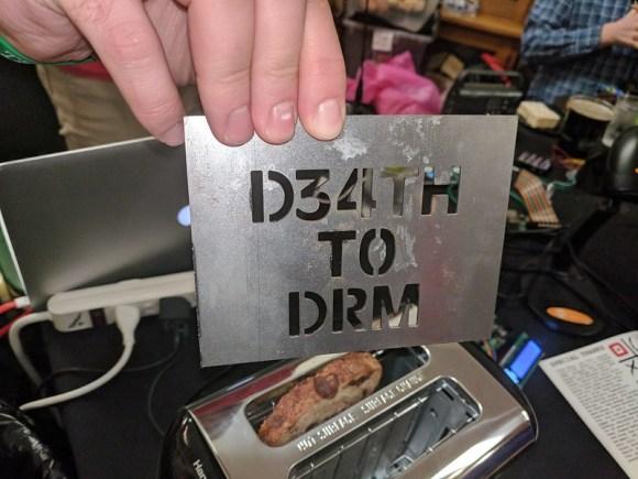 tostadora contra el DRM