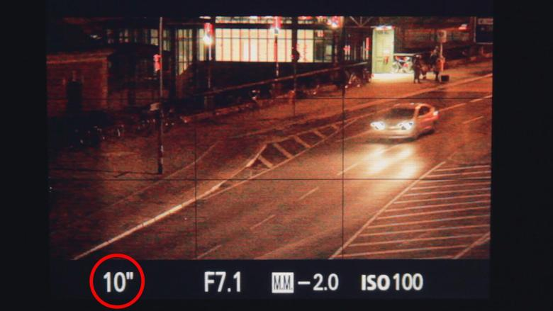 Velocidad Cómo hacer fotos de noche con larga exposición
