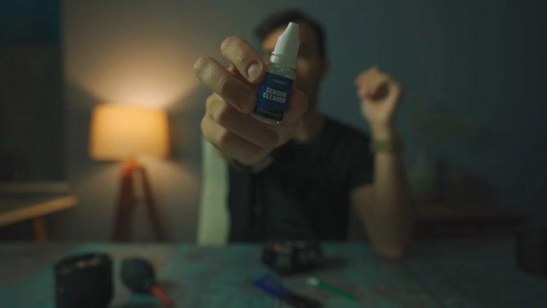 Limpiar sensor10 Cómo limpiar el sensor de tu cámara!