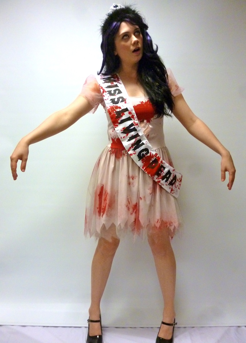 Miss Living Dead Zombie Costume Creative Costumes