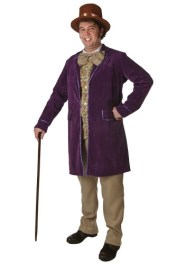 willy wonka costume