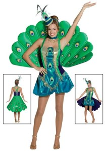 Women's Peacock Costume