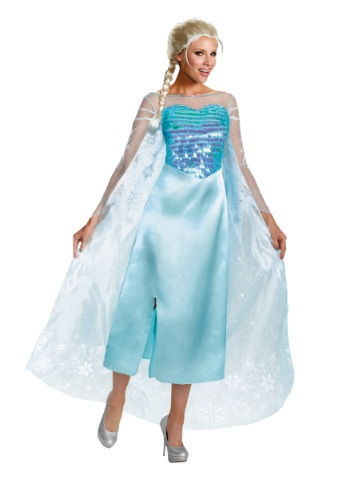 elsa frozen costume adult