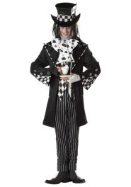 dark mad hatter costume for adults