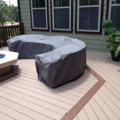 Outdoor Furniture Sofa Cover Bed Come Designs Patio Picture Gallery Creative Covers Curved Sectional Sunbrella