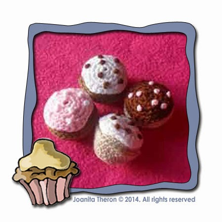 MINI CROCHET CUPCAKE|PLAY-FOOD|CREATIVE CROCHET WORKSHOP
