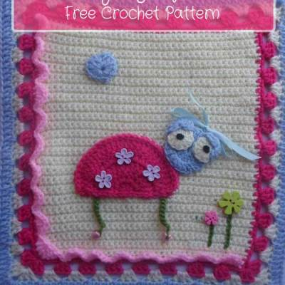 My Garden Bug Blanket – Part One: Labybug Square