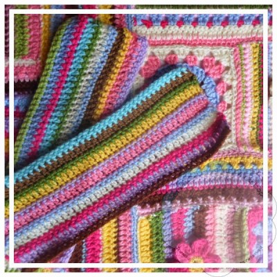 Scrapalicious Bag Large Rectangles and Sewing|Creative Crochet Workshop