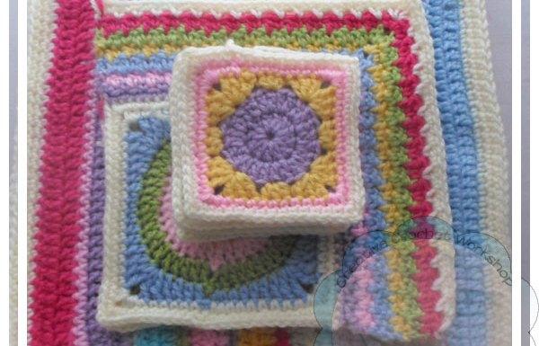 Scrapalicious Blanket Part Two Creative Crochet Workshop