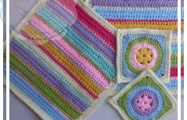 Scrapalicious Blanket Part One|Creative Crochet Workshop