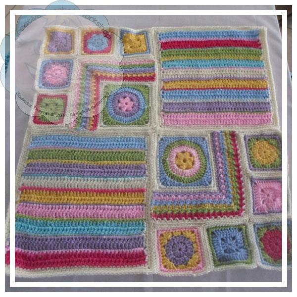 Scrapalicious Blanket Part Three - A Free Crochet Along   Creative Crochet Workshop #ccwscrapaliciousbag #crochetalong #scrapsofyarn