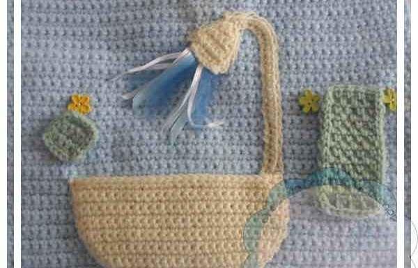 Crochet Dollhouse Bathroom Page|Creative Crochet Workshop