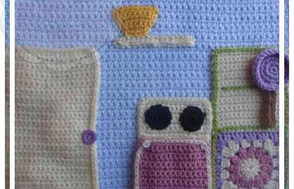Crochet Dollhouse Kitchen Page|Creative Crochet Workshop