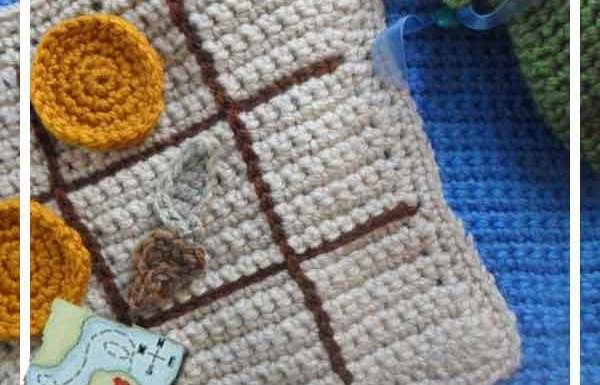 Crochet Pirate Playbook Tic Tac Toe Creative Crochet Workshop