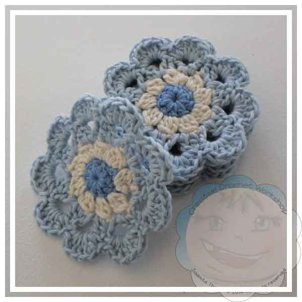 Japanese Flower Coaster Gifts | Creative Crochet Workshop