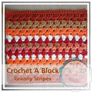 Granny Stripes|Creative Crochet Workshop