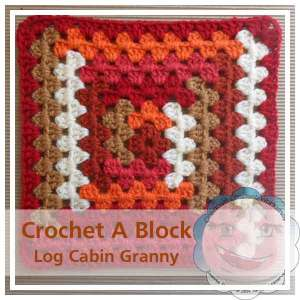 Log Cabin Granny|Creative Crochet Workshop