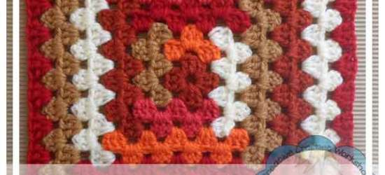 Log Cabin Granny|Creative Crochet Workshop