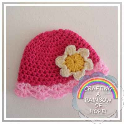 LACY BEANIE |CRAFTING A RAINBOW OF HOPE|CREATIVE CROCHET WORKSHOP