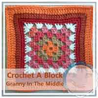 Granny In The Middle granny/afghan square