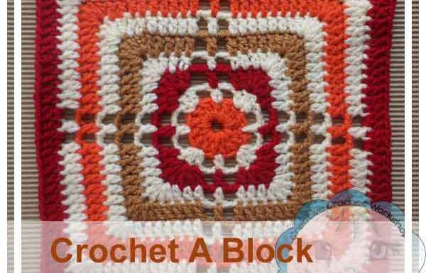 Granny Cross In A Square|Creative Crochet Workshop
