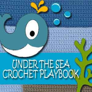 Under The Sea Playbook Button|Creative Crochet Workshop