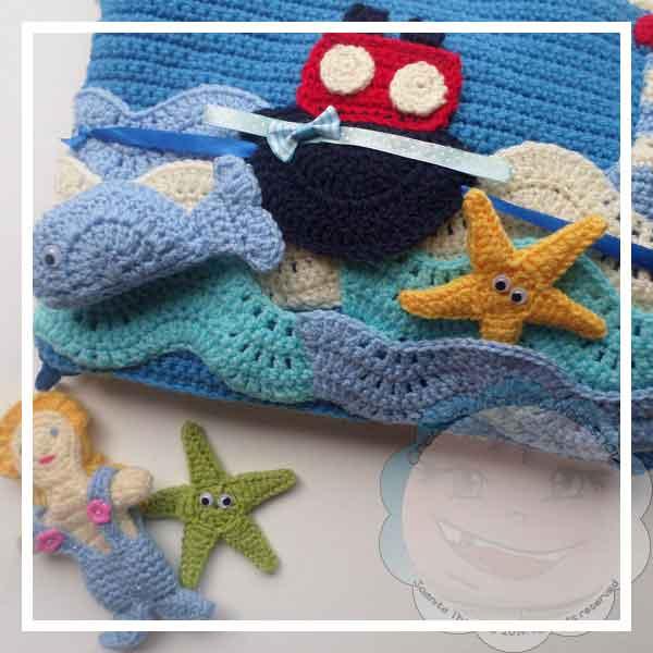Under The Sea Crochet Playbook|Creative Crochet Workshop