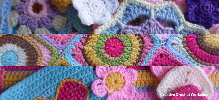 Scraps Of Yarn Series Feature Image | Creative Crochet Workshop