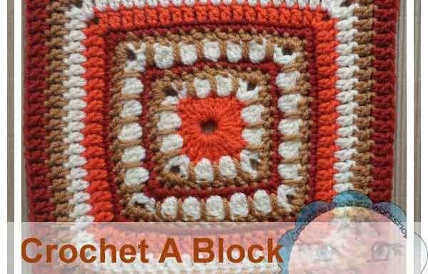 Bold Cluster Square|Creative Crochet Workshop
