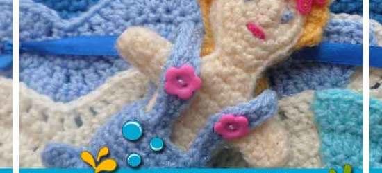 Under The Sea Mermaid doll|Creative Crochet Workshop