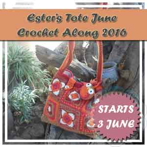Ester's Tote Crochet Along Button|Creative Crochet Workshop