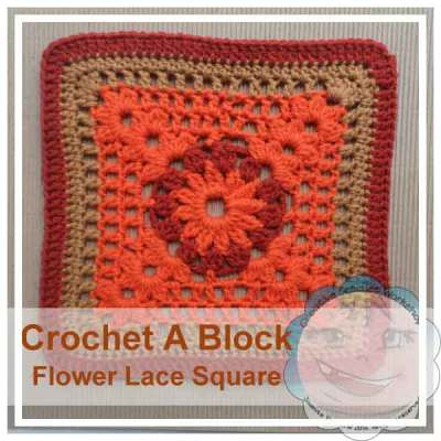 FLOWER LACE SQUARE|CROCHET A BLOCK SERIES|CREATIVE CROCHET WORKHOP